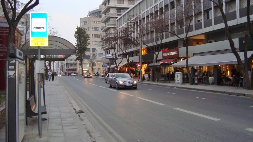 Makariou Avenue Nicosia Street