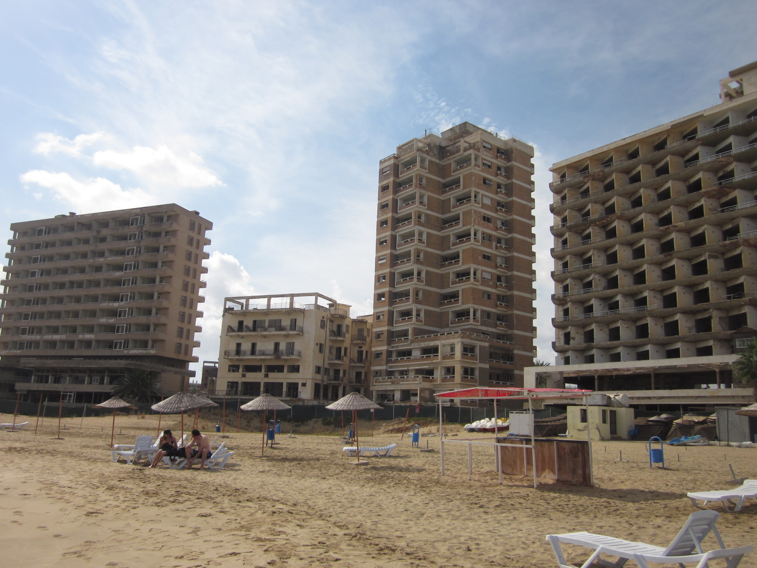 Famagusta ghost town